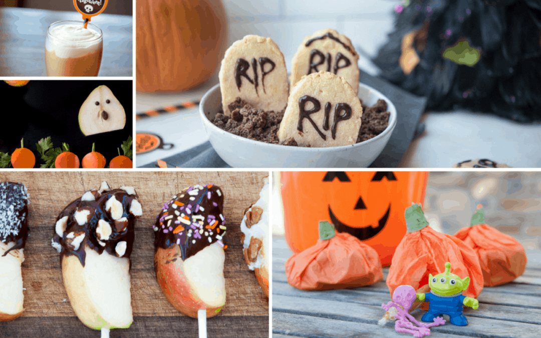 (At least 8) Paleo Halloween Treats