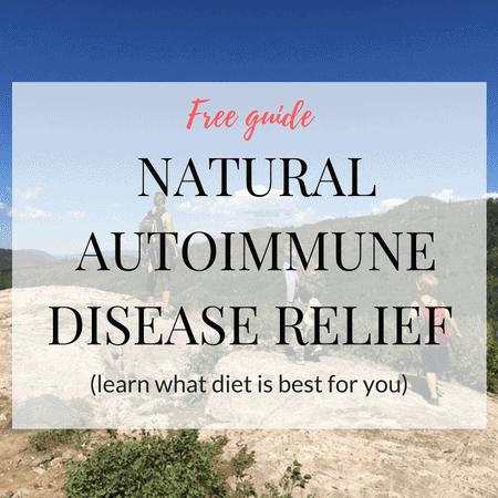 Free Natural Autoimmune Disease relief guide graphic