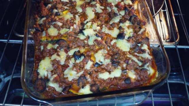 Paleo Squash Lasagna