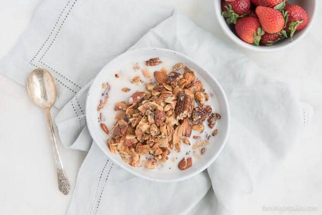 Everyday Granola from Real Food, Real Simple - a paleo, gluten-free breakfast or snack recipe