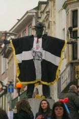miner in flag