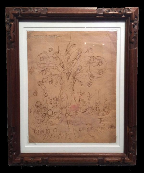 Mirror Frida Kahlo Exhibit Throckmorton