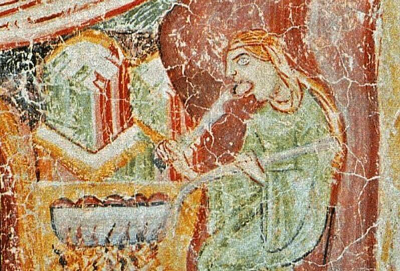 Hocchenpan Castle Knodel Painting