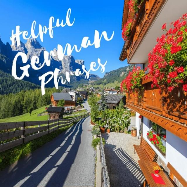 Helpful German Phrases for Your Trip to South Tyrol