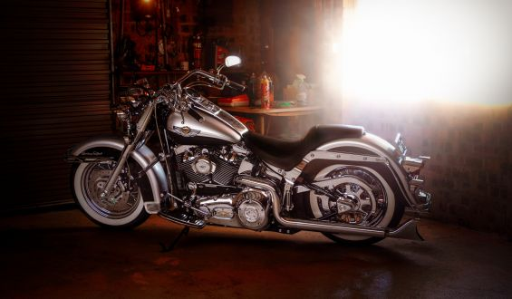 Motorcycle Garage Storage