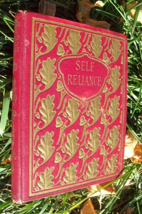 Self Relaince By Ralph Waldo Emerson in Fine Binding