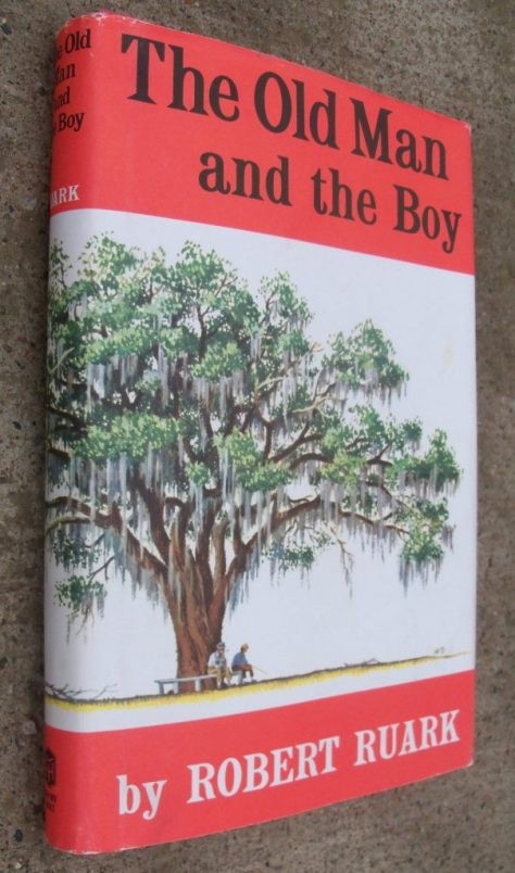 The Front Cover of Dustjacket of The Old Man and the Boy by Robert Ruark. Photograph by Michael Patrick McCarty