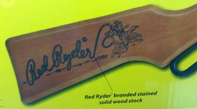 The Daisy Red Ryder BB Gun was the First Firearm of A Legion of American Boys