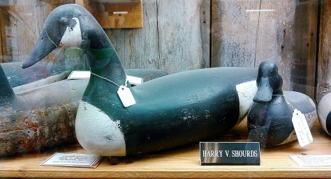 Canada Goose by Harry V. Shourds of Tuckerton, New Jersey. Displayed at the Tuckerton Seaport and Baymen's Museum in Tuckerton, New Jersey. New Jersey Decoys Rule!