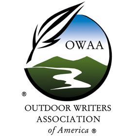 The Logo of The Outdoor Writers Association of America (OWAA). Michael Patrick McCarty, Active Member, and Publisher of Through A Hunter's Eyes