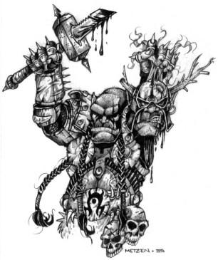 Doomhammer defeats Blackhand
