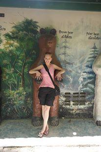 The nearest thing I got to a bear hug!
