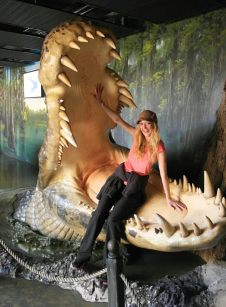 Inside the worlds biggest croc!
