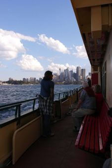 Ferry to Circular Quay Wharf