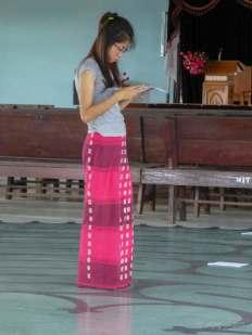 Reading and praying