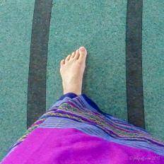 Walking and praying