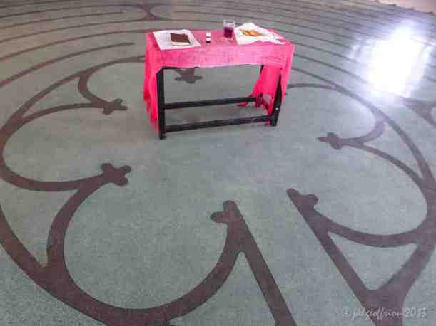 Communion in the Labyrinth