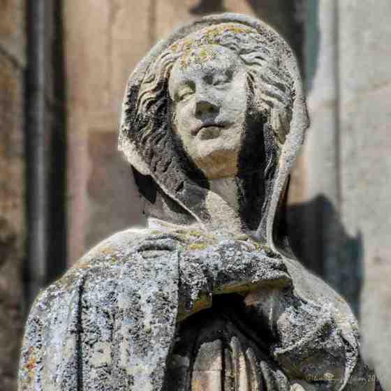 13th Century Detail: Mary