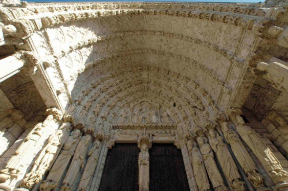 East Bay, North Porch Chartres