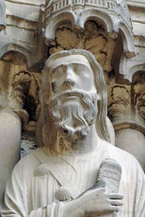 St. James as a pilgrim