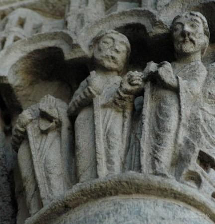 Pilgrims on the way to Emmaus