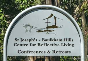 Sign for the Center