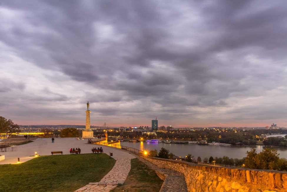 SkyPorn at Belgrade