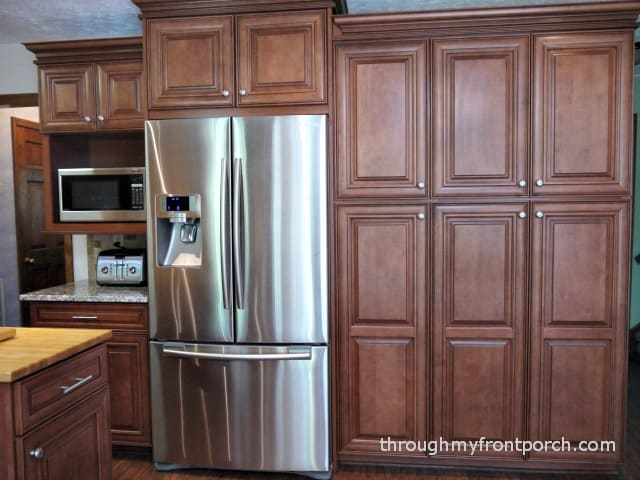 Superb Wall Of Cabinets In Kitchen Part - 9: Kitchen Reveal Wall Of Cabinets