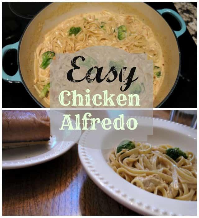 Easy Chicken Alfredo