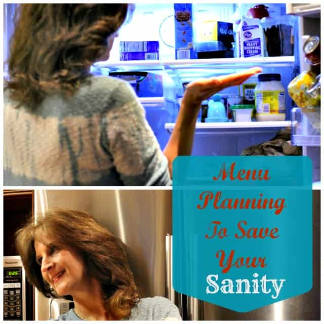 Weekly Meal Planning To Save Your Sanity Plus A Free Menu Printable