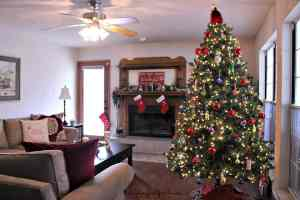 Family Room Christmas Tour 2015