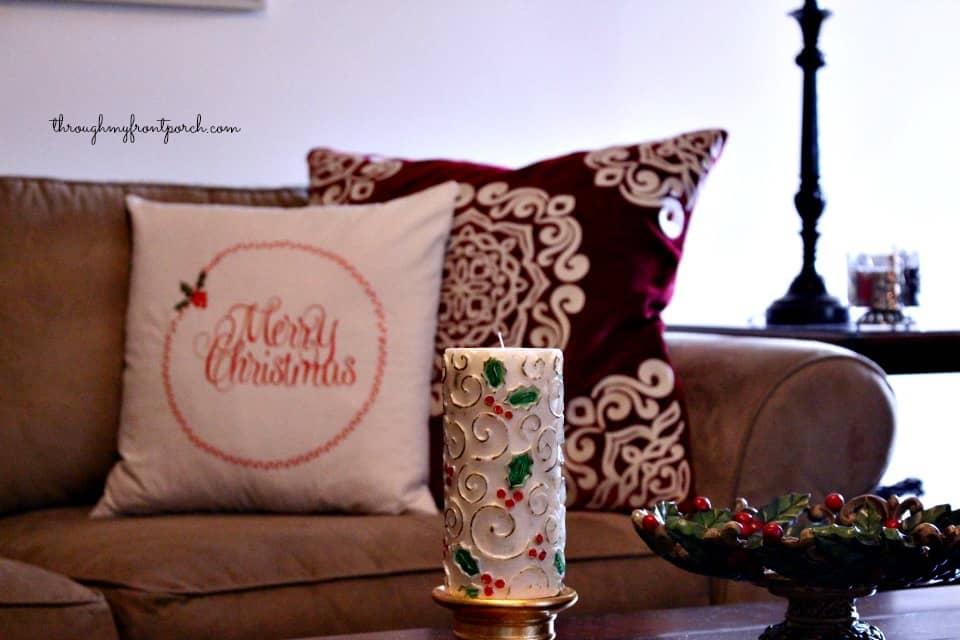 Family Room Christmas Tour 2015