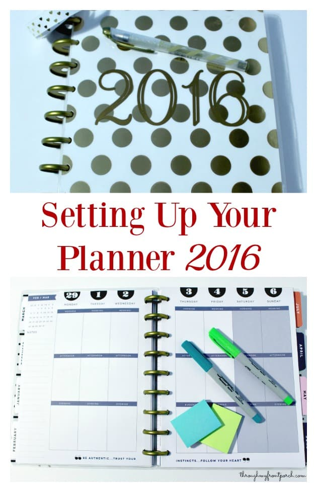 You Need To Set Up Your Life Planner Today