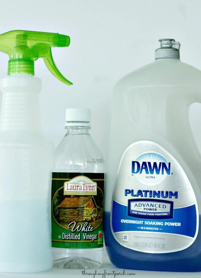 How To Clean Your Bathroom Faster With Vinegar Through