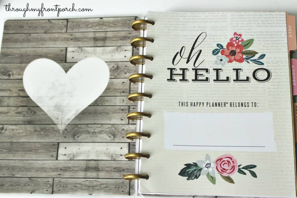 My Review Of The Happy Planner