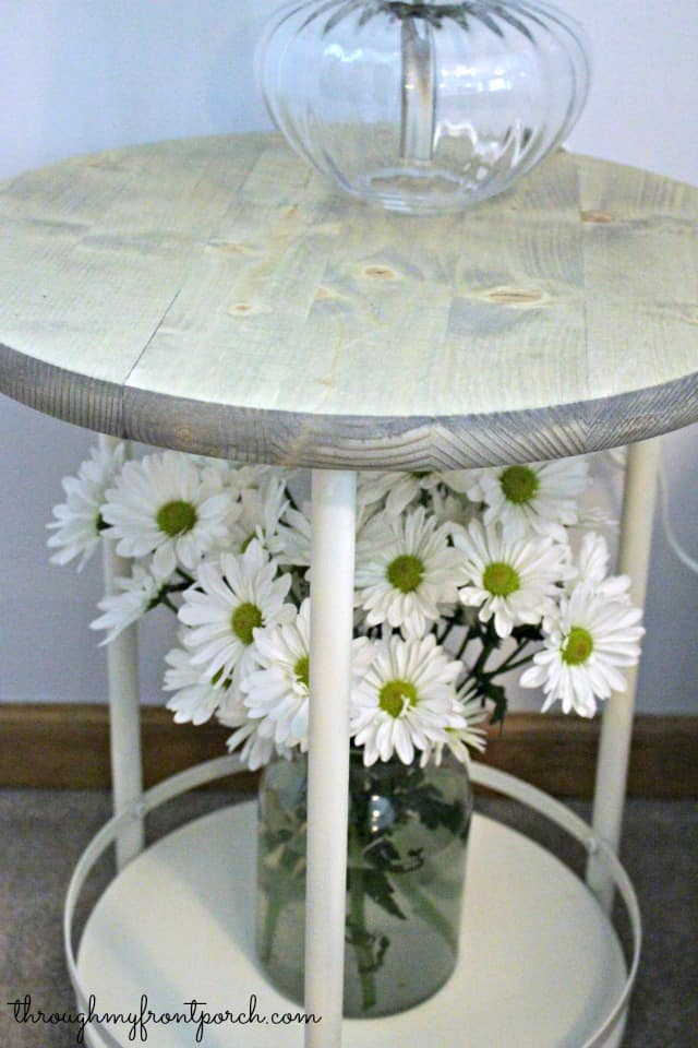 DIY a side table