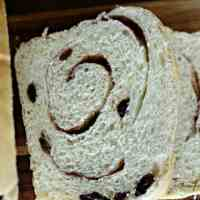 Yummy Swirled Cinnamon Raisin Bread