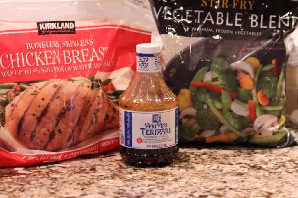 30 Minute Teriyaki Chicken Stir Fry Ingredients