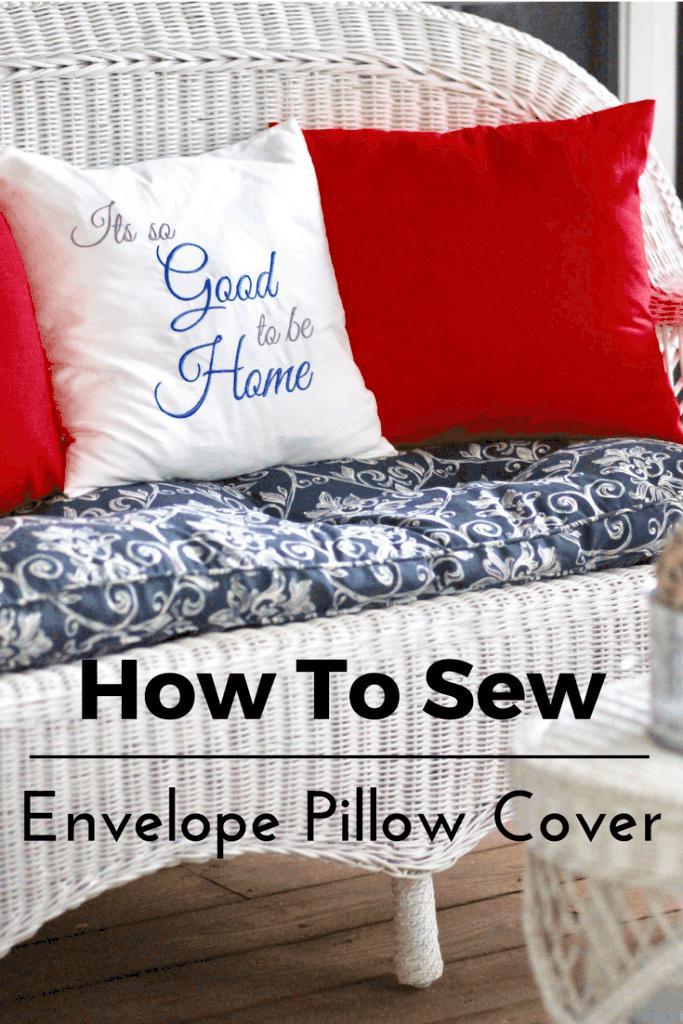https throughmyfrontporch com sew 18 inch envelope pillow cover tutorial