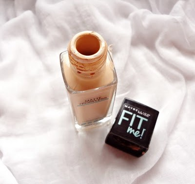 Maybelline Fit me! foundation 128 warm Nude