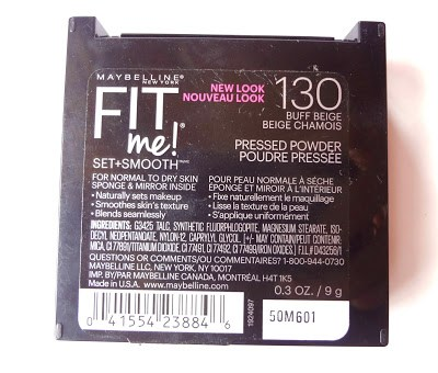 maybelline fit me 130 Buff Beige