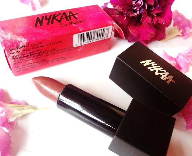 Nykaa So Matte Fall Winter collection lipstick in Irish Coffee