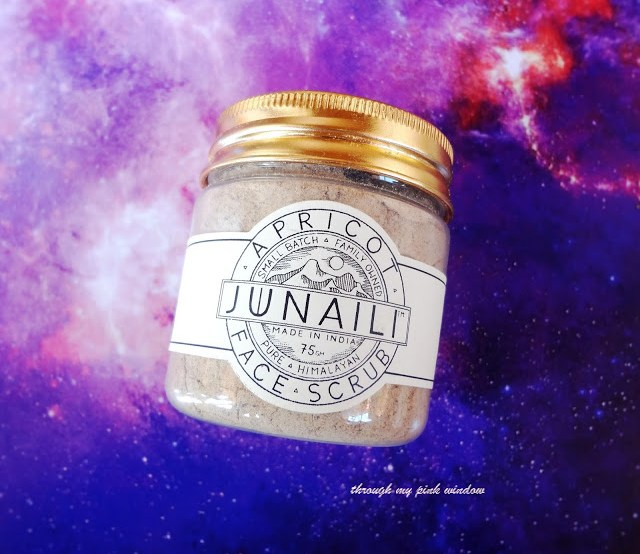 Review of Junaili Apricot Face Scrub, Pure Himalayan Apricot face scrub
