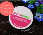 Mamaearth C3 Charcoal, Coffee and Clay Face Mask: Review