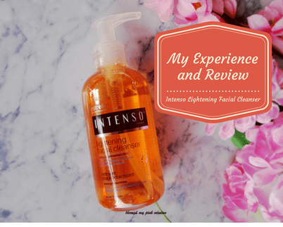 Intenso Lightening Facial Cleanser by Estrella for oily to combination skin : Review