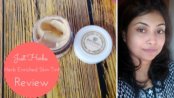Just Herbs Herb Enriched Skin Tint in Medium : Review, Swatch and LOTD