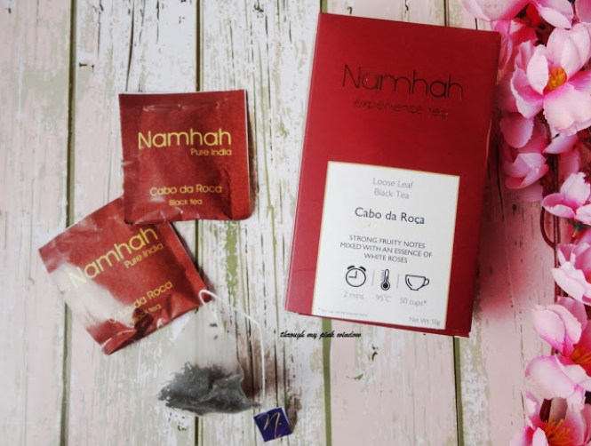 Experience the world's finest teas with Namhah | Namhah Black tea Cabo da Roca : Review