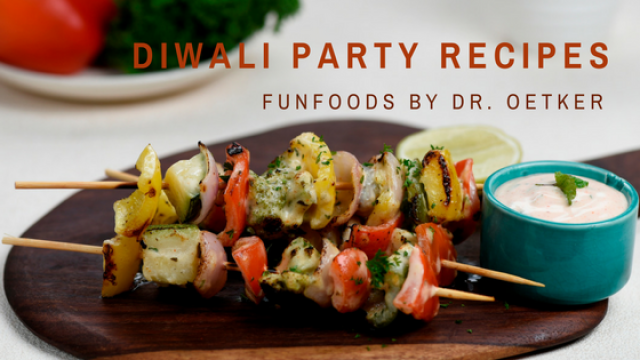 Diwali Party Recipes From FunFoods By Dr.Oetker
