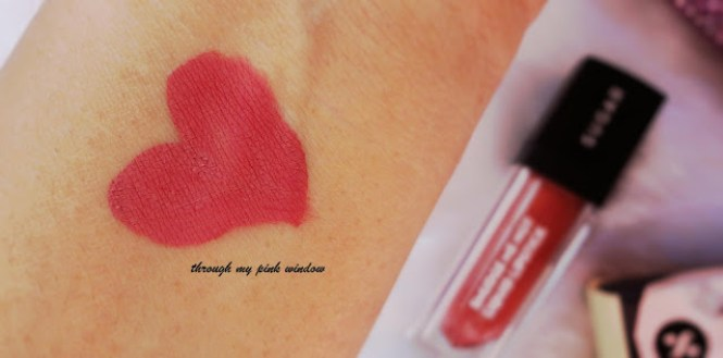 Sugar Smudge Me Not Liquid Lipstick in 15 Blush Rush ; Review, Swatch and MOTD