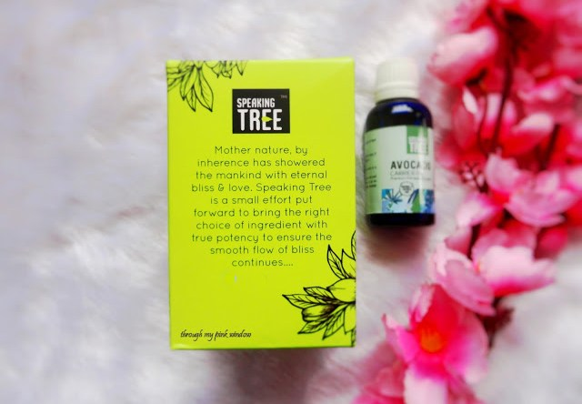 Speaking Tree Avocado Carrier Oil : Review